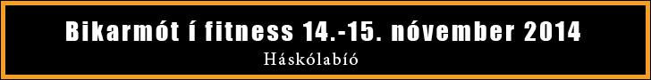Bikarmótið í fitness, módelfitness, sportfitness, ólympíufitness og vaxtarrækt 2014