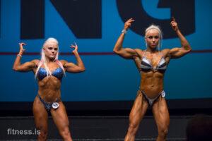 Fitnessflokkar kvenna á Íslandsmóti IFBB 2015